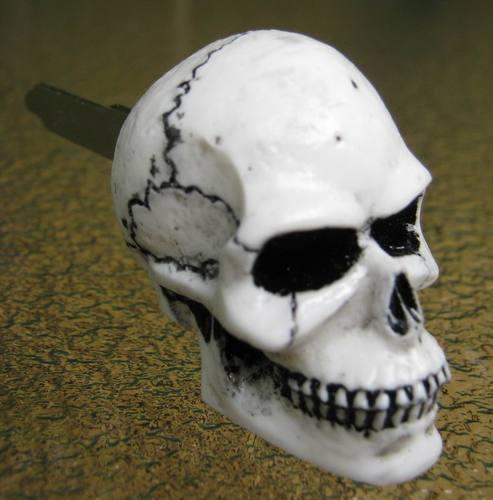 New blank key with skull head / Suzuki Intruder Skullkey