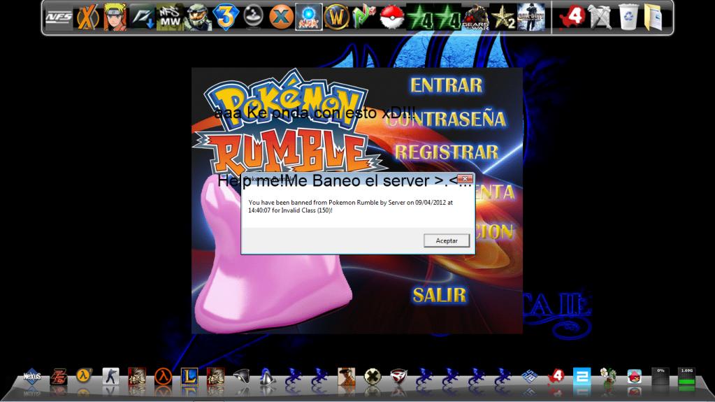 Me baneo el server ._. Bann