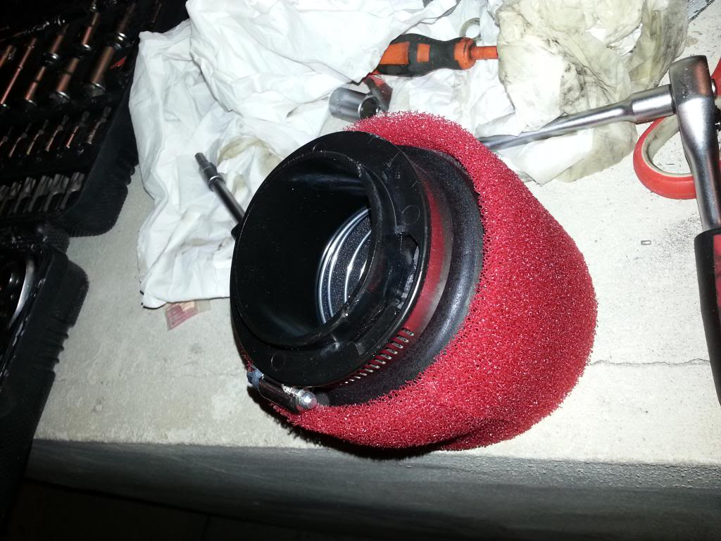 Tutorial cambio airbox de superduke a filtro espuma tipo motobox, cpr, motohooligan 20130228_151217_zps9610625f