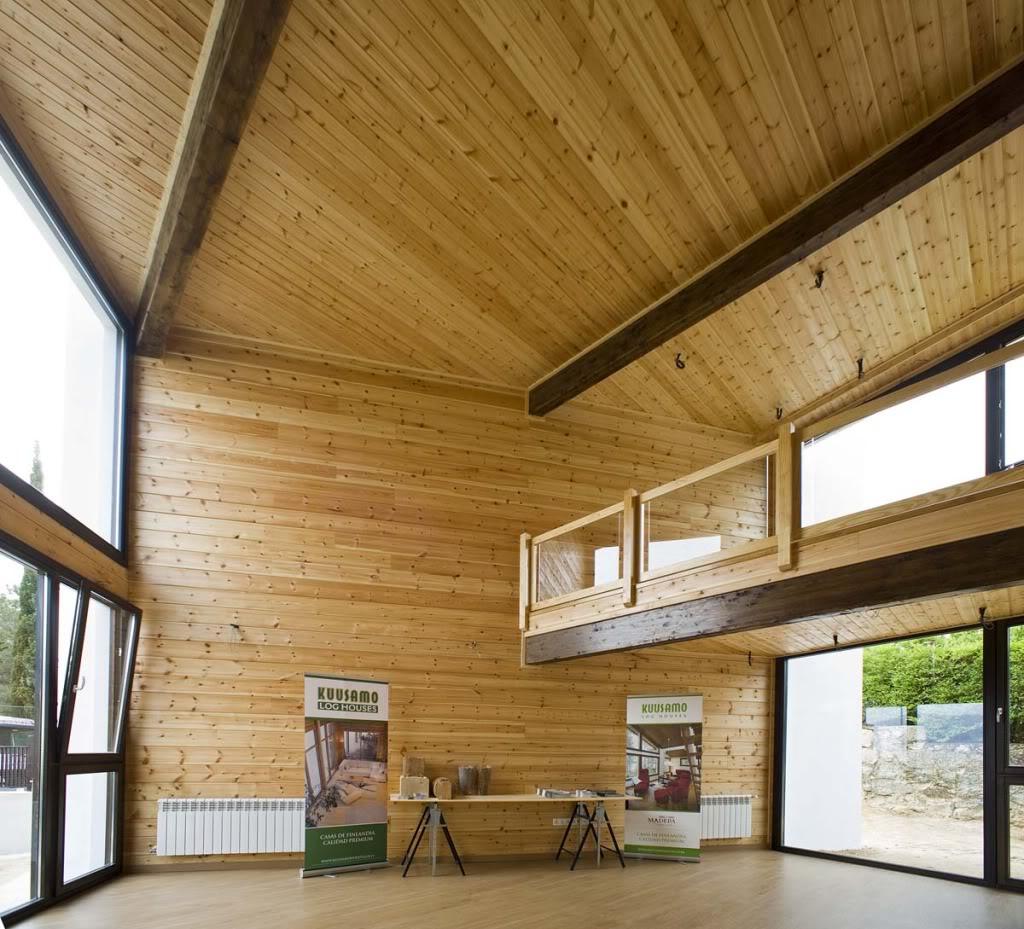 Vivienda de madera en Guadarrama - 100x100madera 100x100madera11