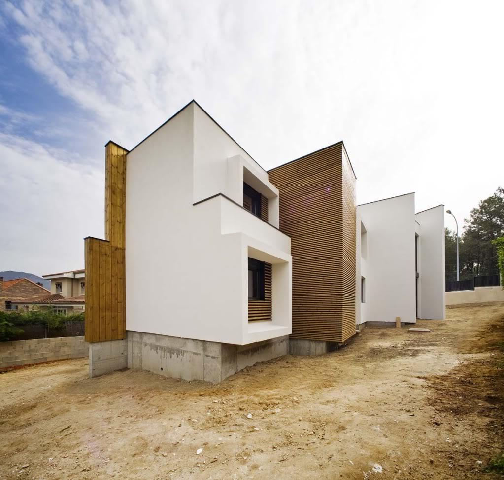 Vivienda de madera en Guadarrama - 100x100madera 100x100madera2