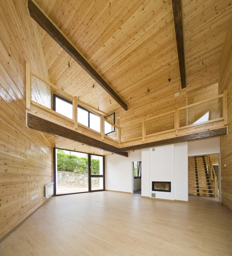 Vivienda de madera en Guadarrama - 100x100madera 100x100madera5