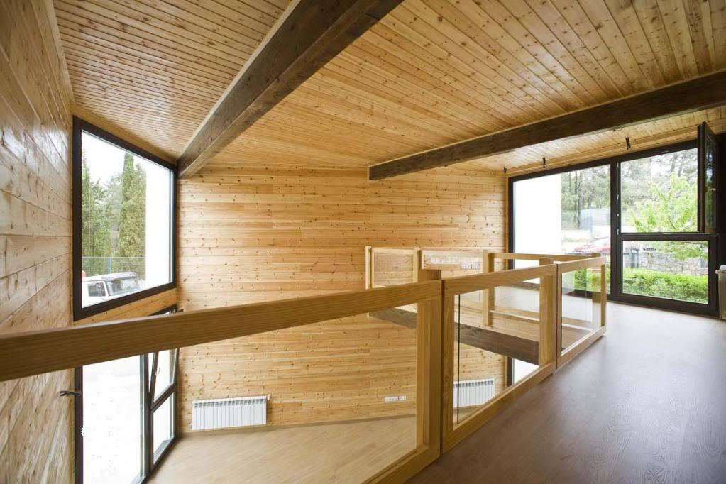 Vivienda de madera en Guadarrama - 100x100madera 100x100madera6