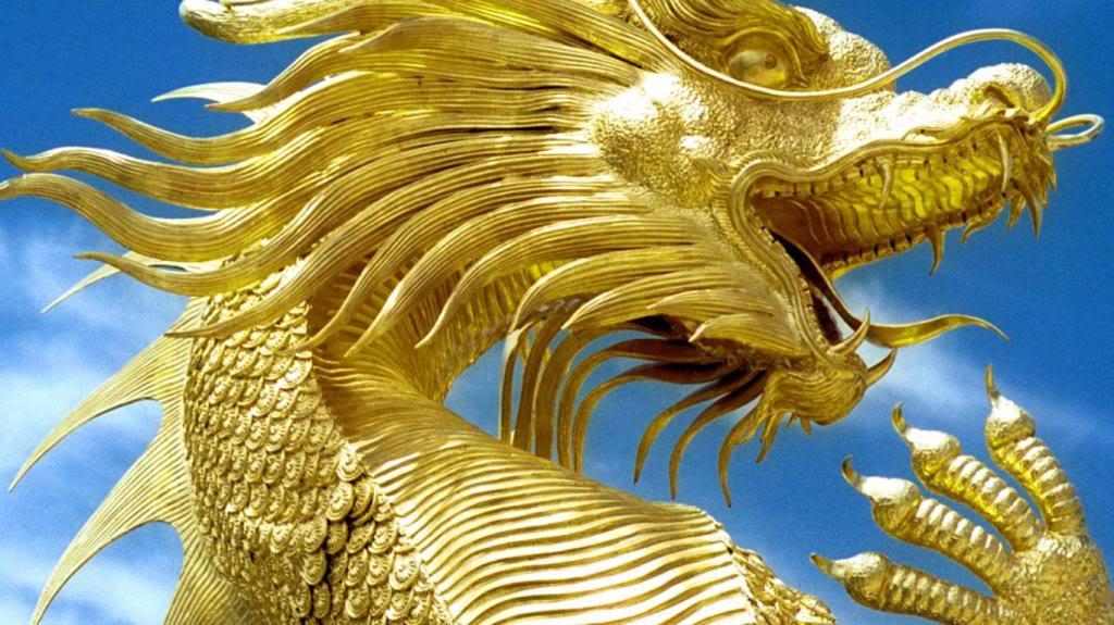 Iron is Born GoldDragonWallpaper