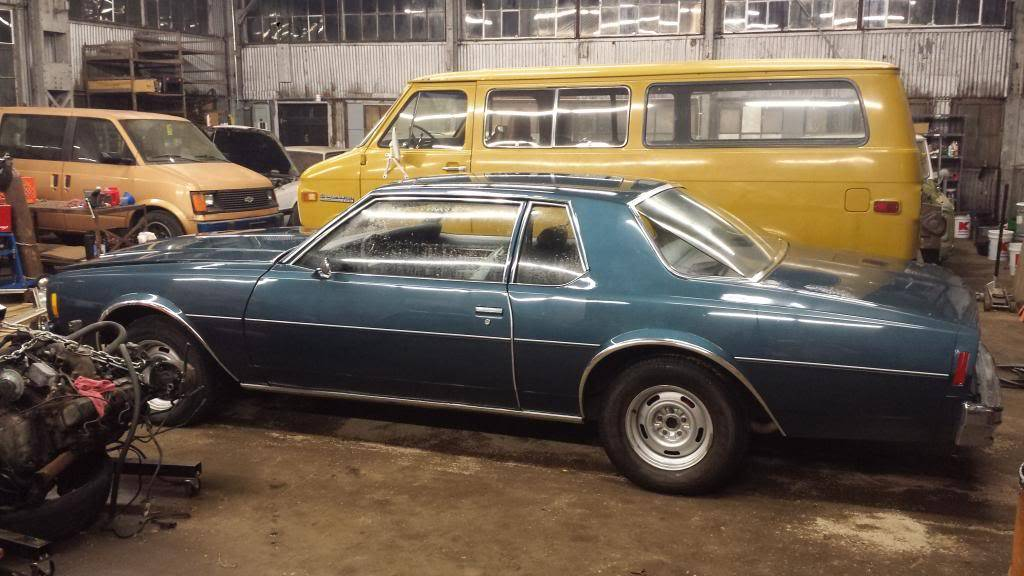 Just picked up a '77 Impala coupe 20140612_214129_zps09307863