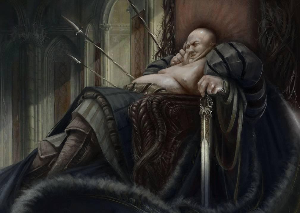 Ali Abawa, El pequeño Sultán Fat_king_by_grobelski-d6s0b8u_zpsyfu4hzm0