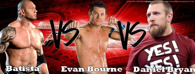 Carte de W.E.W Monday Night Raw, 23 juillet 2012. Batista-ebourne-dbryan