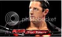 Résultats de WEW Monday Night RAW, 18 juin 2012. Wbarrett