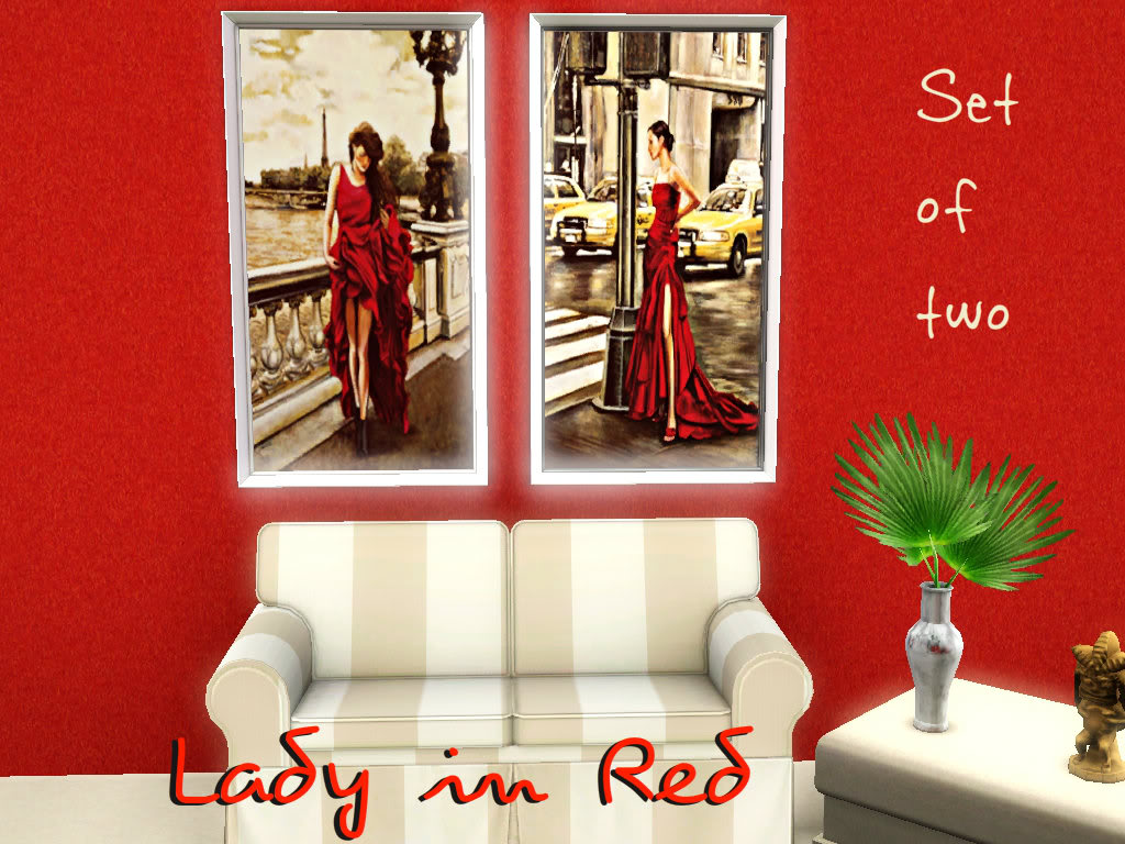 Lady in Red by InaMac69 Screenshot-5