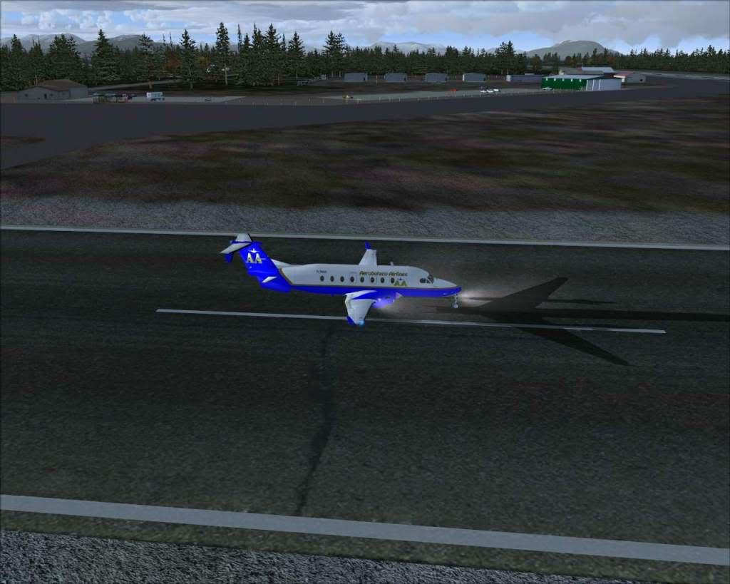 """""""Fs9"""" Gustavos - Haines... um aeroporto bem tranquilo e bonito RICARDO-2010-nov-2-013"""