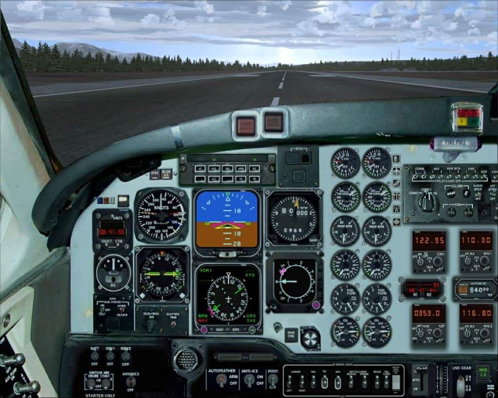 """""""Fs9"""" Gustavos - Haines... um aeroporto bem tranquilo e bonito RICARDO-2010-nov-2-019"""