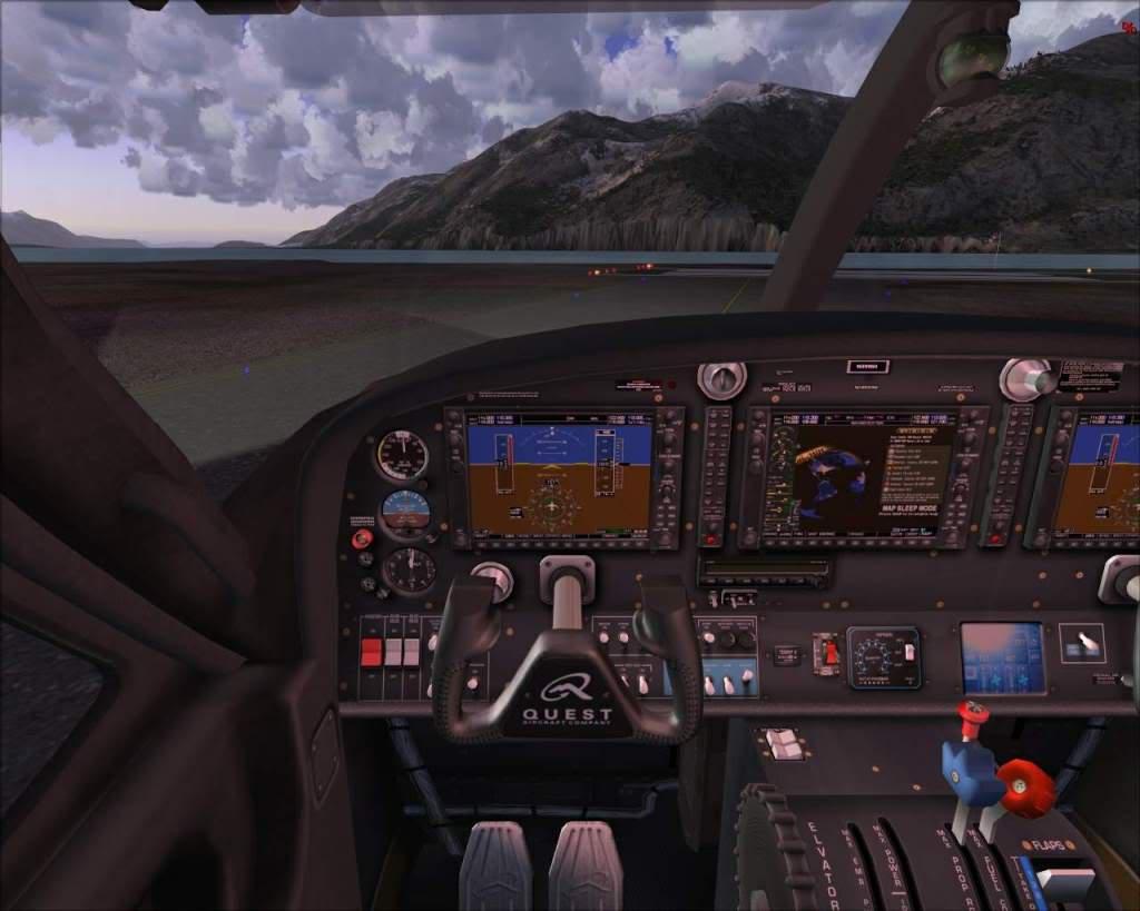 """""""Fs9"""" Haines - Juneau com Quest Kodiak RICARDO-2010-nov-7-013"""