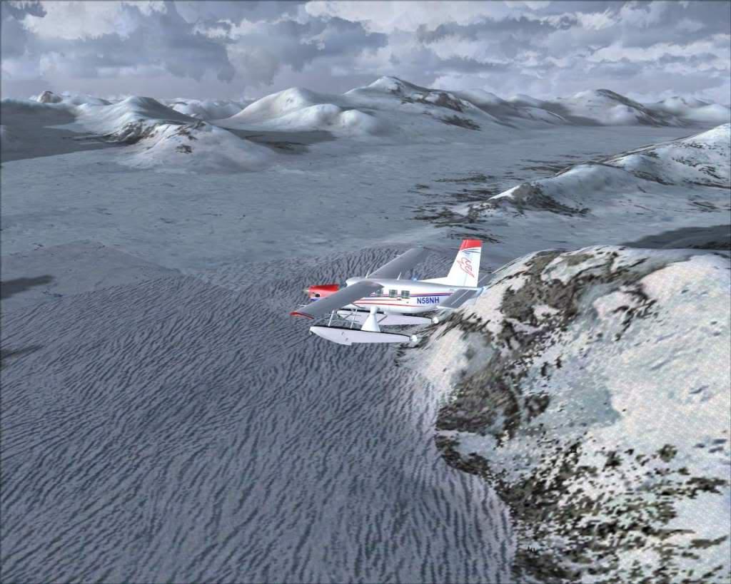 """""""Fs9"""" Sobrevoando as montanhas e geleiras rumo a Juneau RICARDO-2010-nov-7-025"""