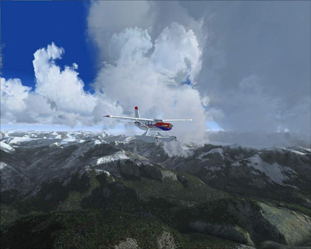 """""""Fs9"""" Sobrevoando as montanhas e geleiras rumo a Juneau RICARDO-2010-nov-7-030"""