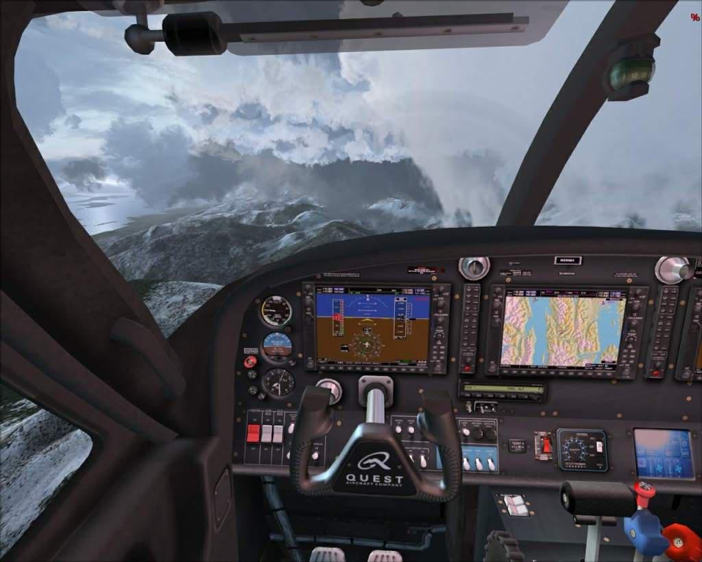 """""""Fs9"""" Sobrevoando as montanhas e geleiras rumo a Juneau RICARDO-2010-nov-9-010"""