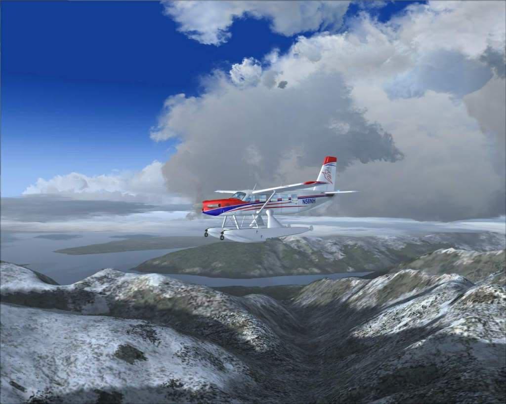 """""""Fs9"""" Sobrevoando as montanhas e geleiras rumo a Juneau RICARDO-2010-nov-9-011"""