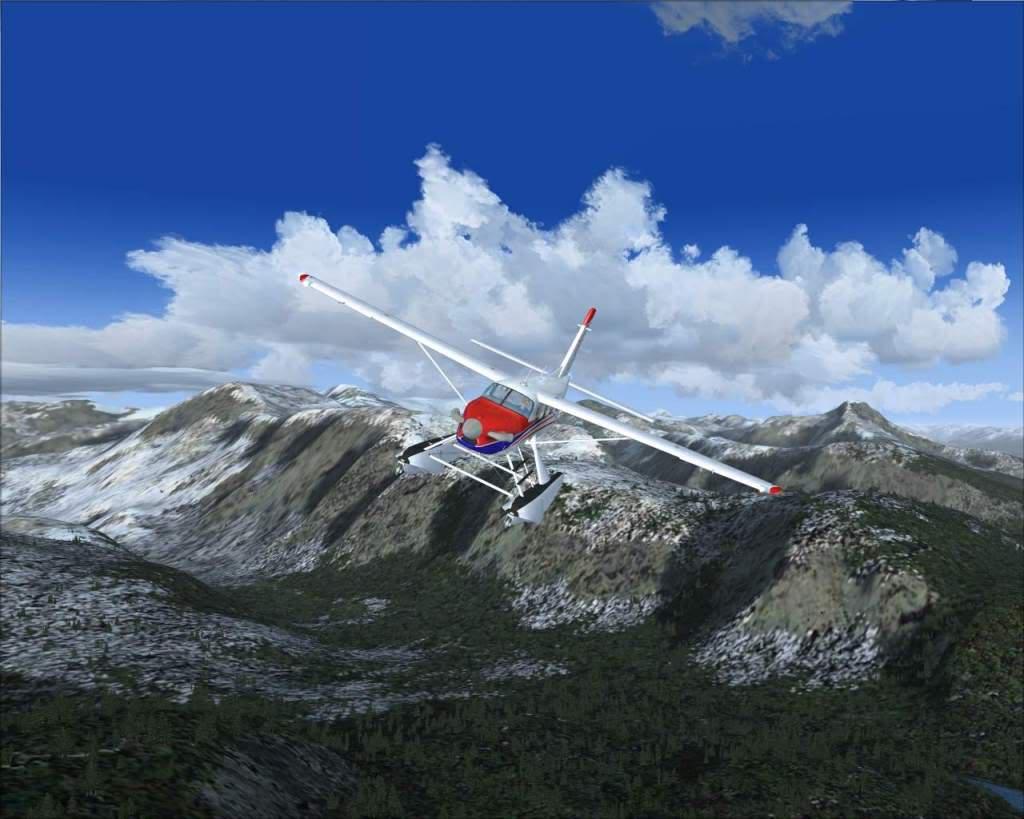 """""""Fs9"""" Sobrevoando as montanhas e geleiras rumo a Juneau RICARDO-2010-nov-9-033"""