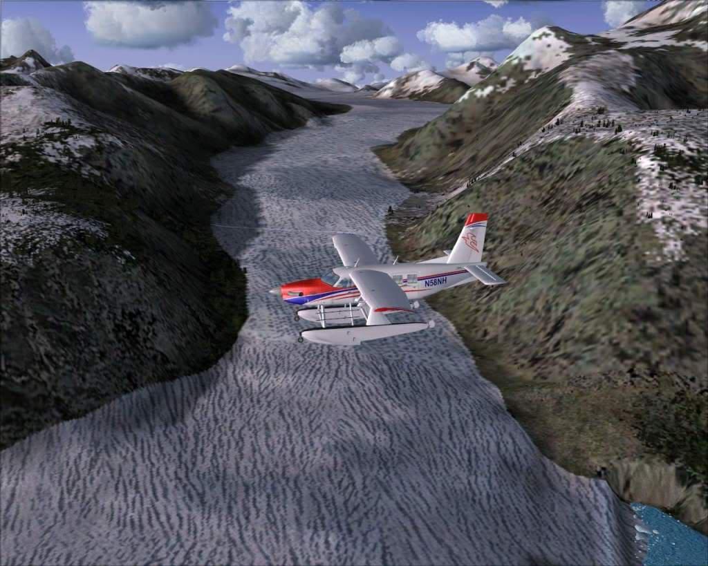 """""""Fs9"""" Sobrevoando as montanhas e geleiras rumo a Juneau RICARDO-2010-nov-9-036"""