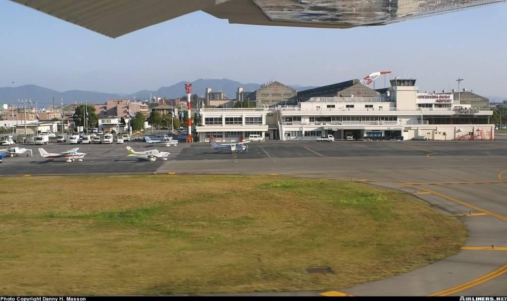 """""""Fs9"""" Aproximação Constellation em Hiroshima-Nishi HiroshimaNishiAirport"""