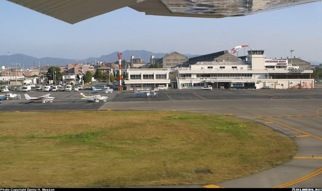 """""""Fs9"""" HiroshimaNishi - Iwami... HiroshimaNishiAirport"""