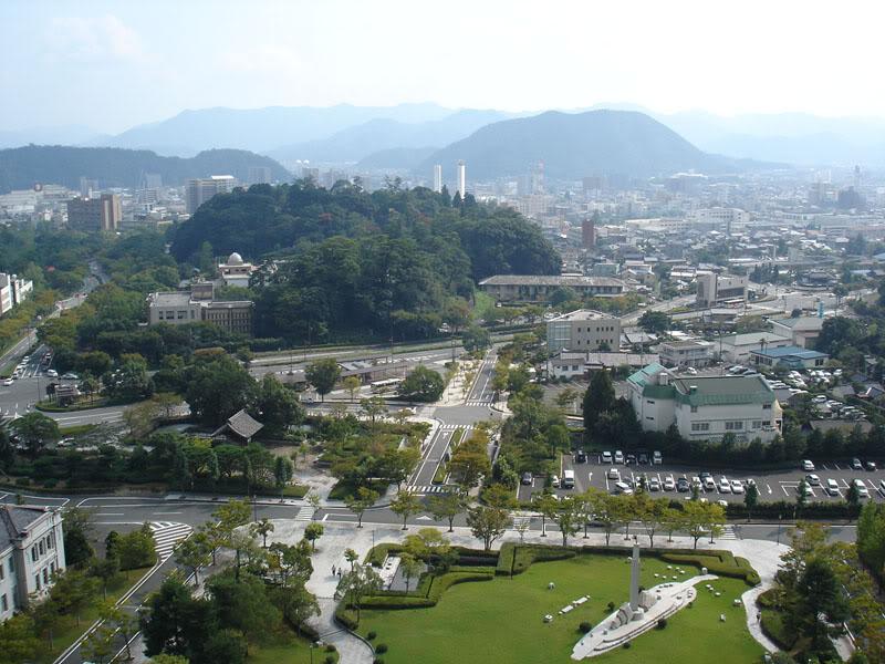 """""""Fs9"""" Aproximação para UBE Yamaguchi... Yamaguchi_city"""