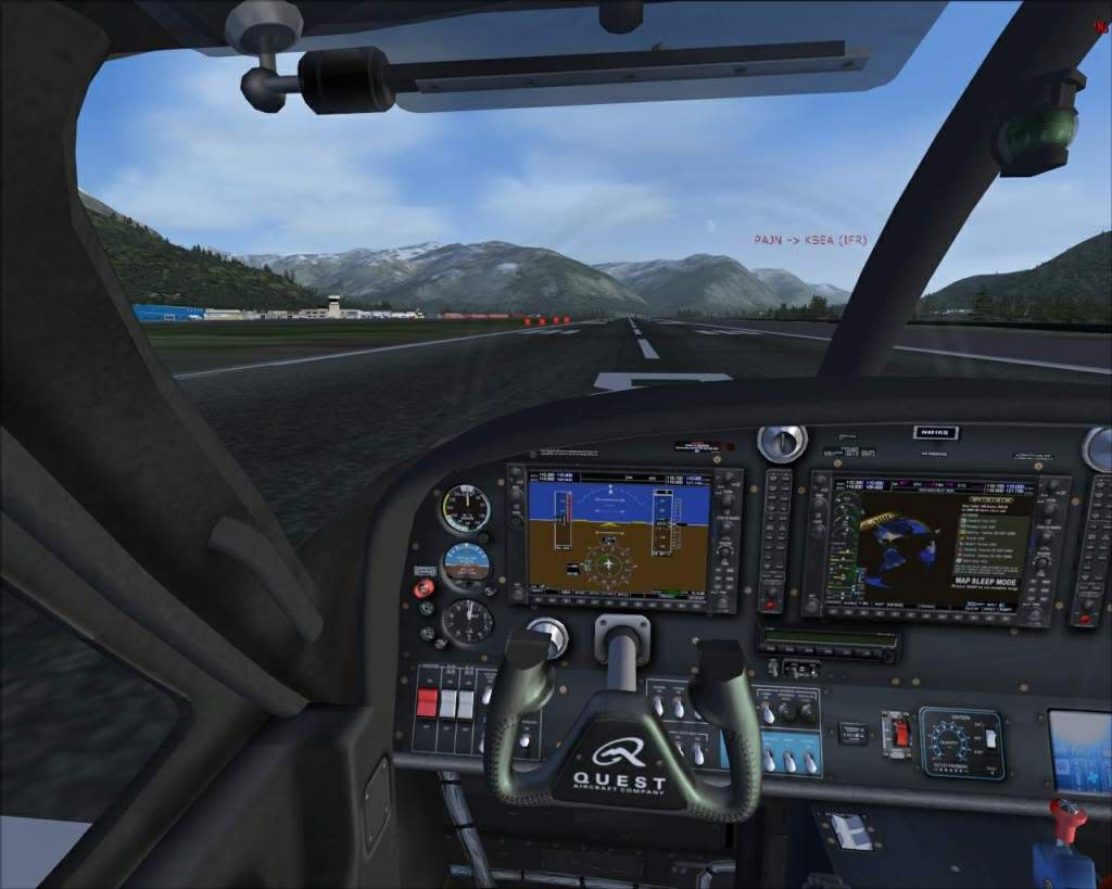 """Fs9"" Juneau - Haines Float Plane RICARDO-2010-nov-14-021"