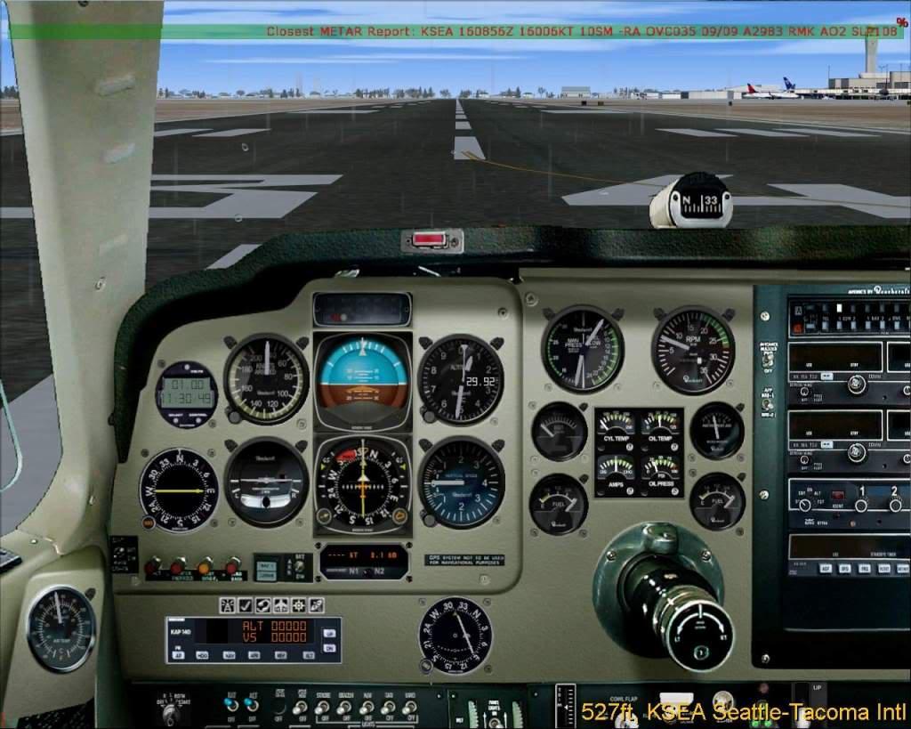 Chave GPS/NAV no Bonanza F33A RICARDO-2010-dec-5-038