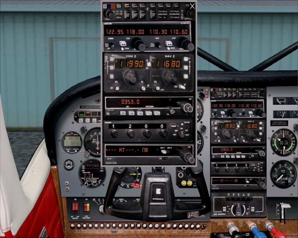 Cessna U206G Stationair 6, Ajuste de Altitude  RICARDO-2010-nov-20-005