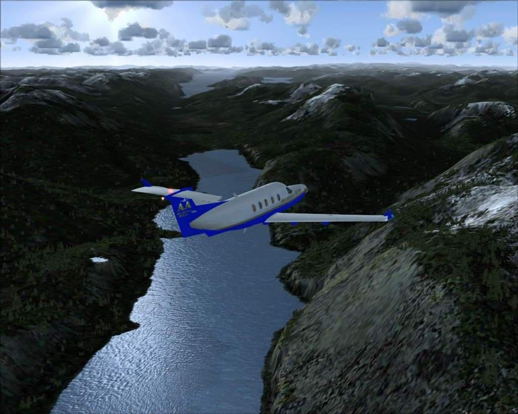 """""""Fs9"""" Voando ate pelas Montanhas ate Sitka parte 2 RICARDO-2010-oct-19-005"""