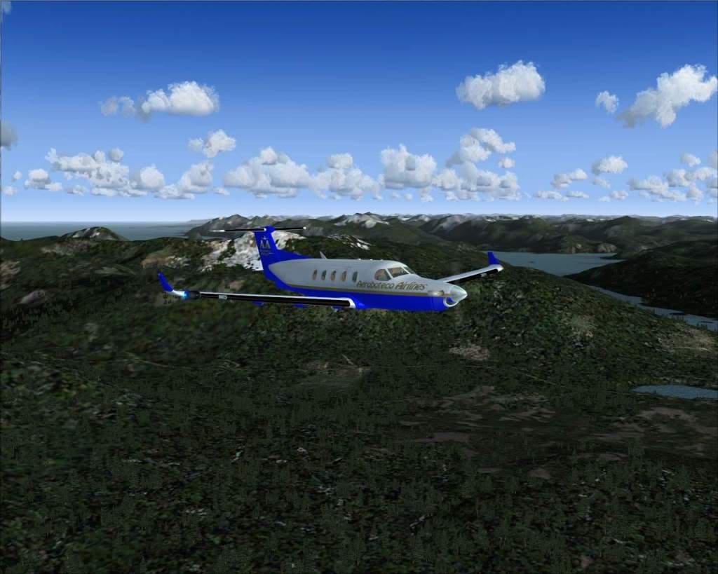 """""""Fs9"""" Voando ate pelas Montanhas ate Sitka parte 2 RICARDO-2010-oct-19-009"""
