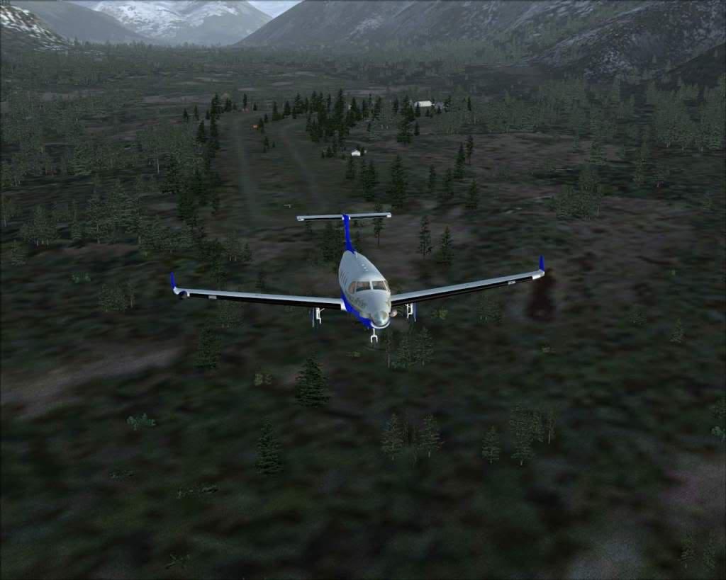 """""""Fs9"""" Voando ate pelas Montanhas ate Sitka parte 2 RICARDO-2010-oct-19-032"""