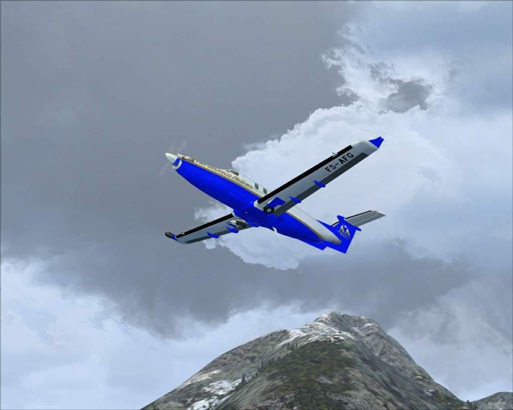 """""""Fs9"""" Voando ate pelas Montanhas ate Sitka parte 2 RICARDO-2010-oct-19-033"""