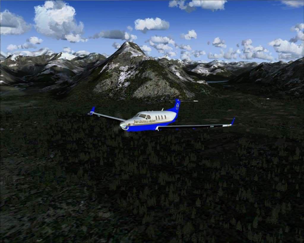 """""""Fs9"""" Voando ate pelas Montanhas ate Sitka parte 2 RICARDO-2010-oct-19-035"""