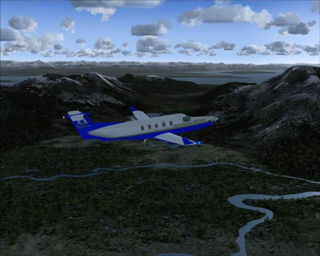 """""""Fs9"""" Voando ate pelas Montanhas ate Sitka parte 2 RICARDO-2010-oct-19-037"""