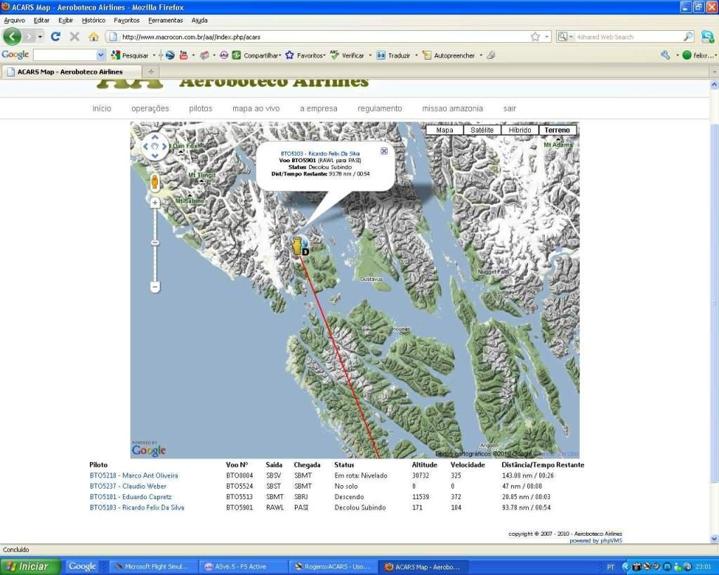 """""""Fs9"""" Voando ate pelas Montanhas ate Sitka parte 2 RICARDO-2010-oct-19-038"""