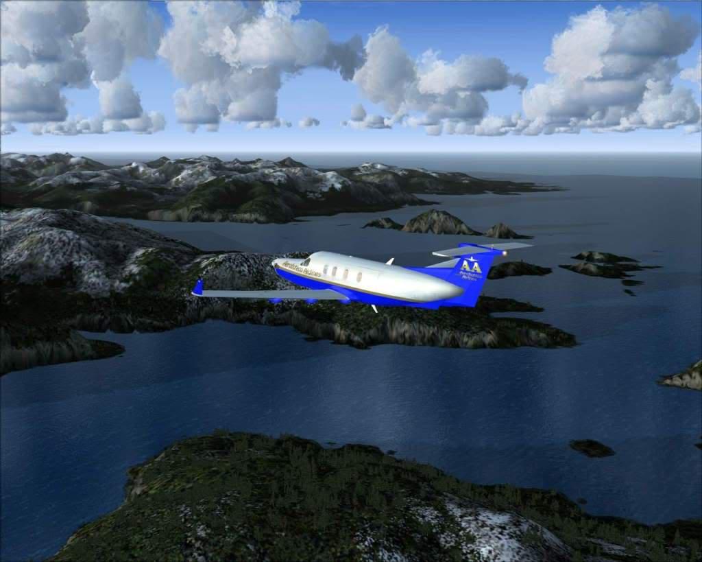 """""""Fs9"""" Voando ate pelas Montanhas ate Sitka parte 2 RICARDO-2010-oct-19-045"""