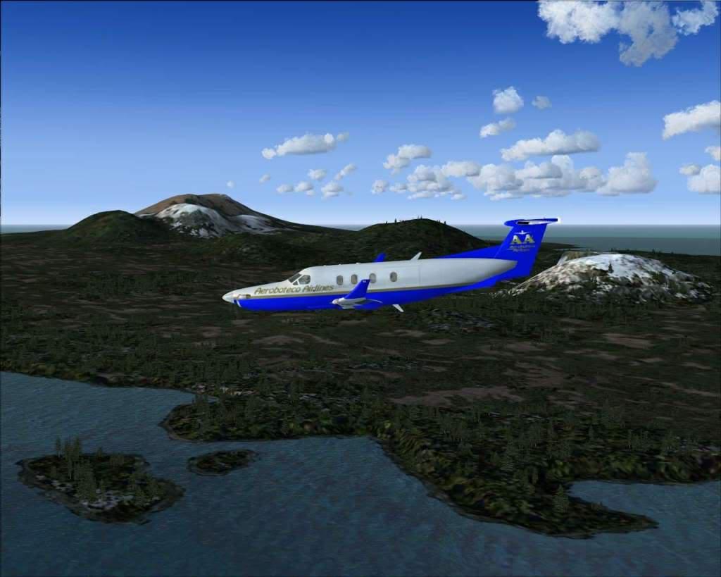 """""""Fs9"""" Voando ate pelas Montanhas ate Sitka parte 2 RICARDO-2010-oct-19-048"""