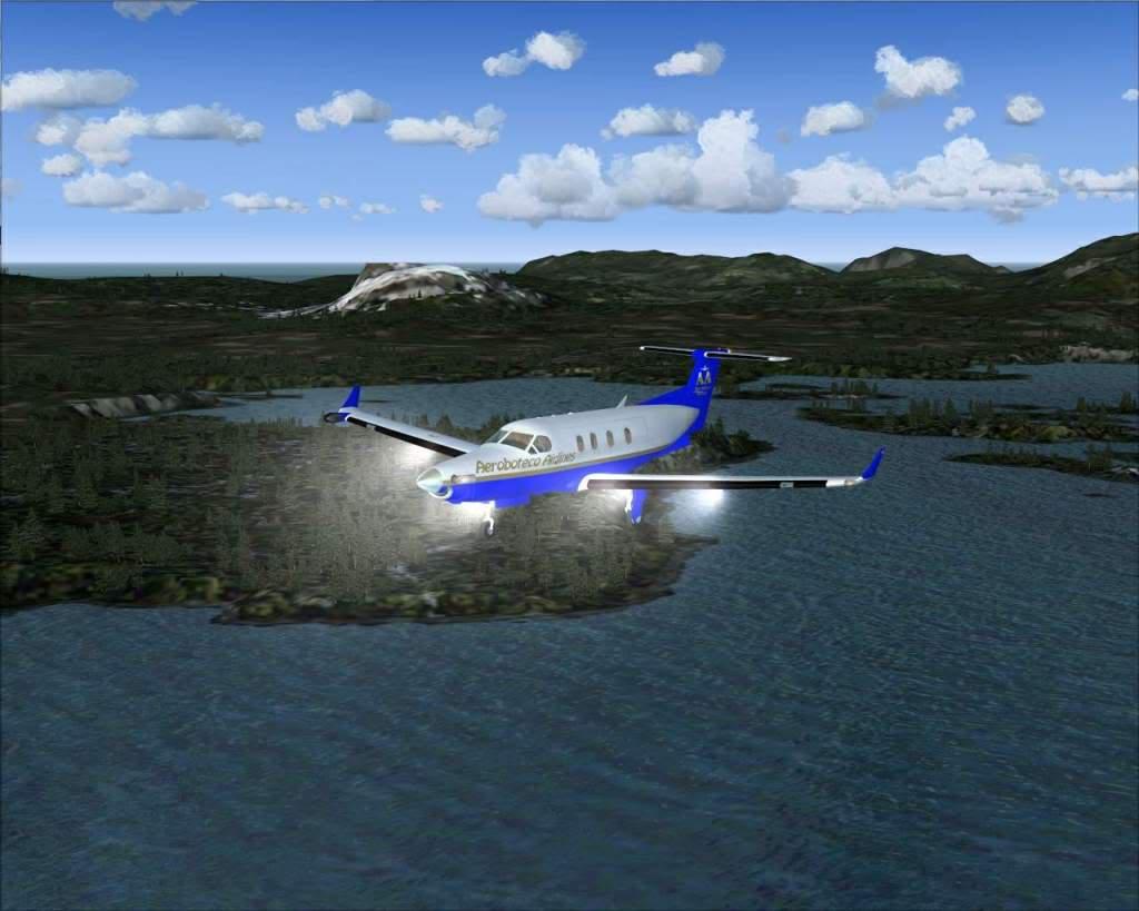 """""""Fs9"""" Voando ate pelas Montanhas ate Sitka parte 2 RICARDO-2010-oct-19-049"""