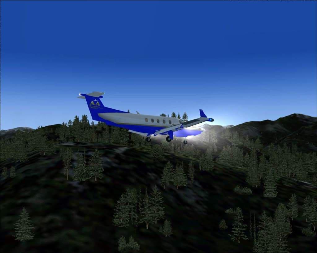 """""""Fs9"""" Voando ate pelas Montanhas ate Sitka parte 2 RICARDO-2010-oct-19-050"""