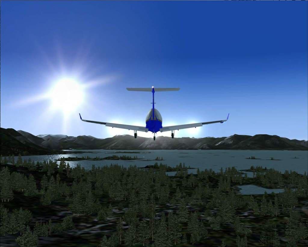 """""""Fs9"""" Voando ate pelas Montanhas ate Sitka parte 2 RICARDO-2010-oct-19-051"""
