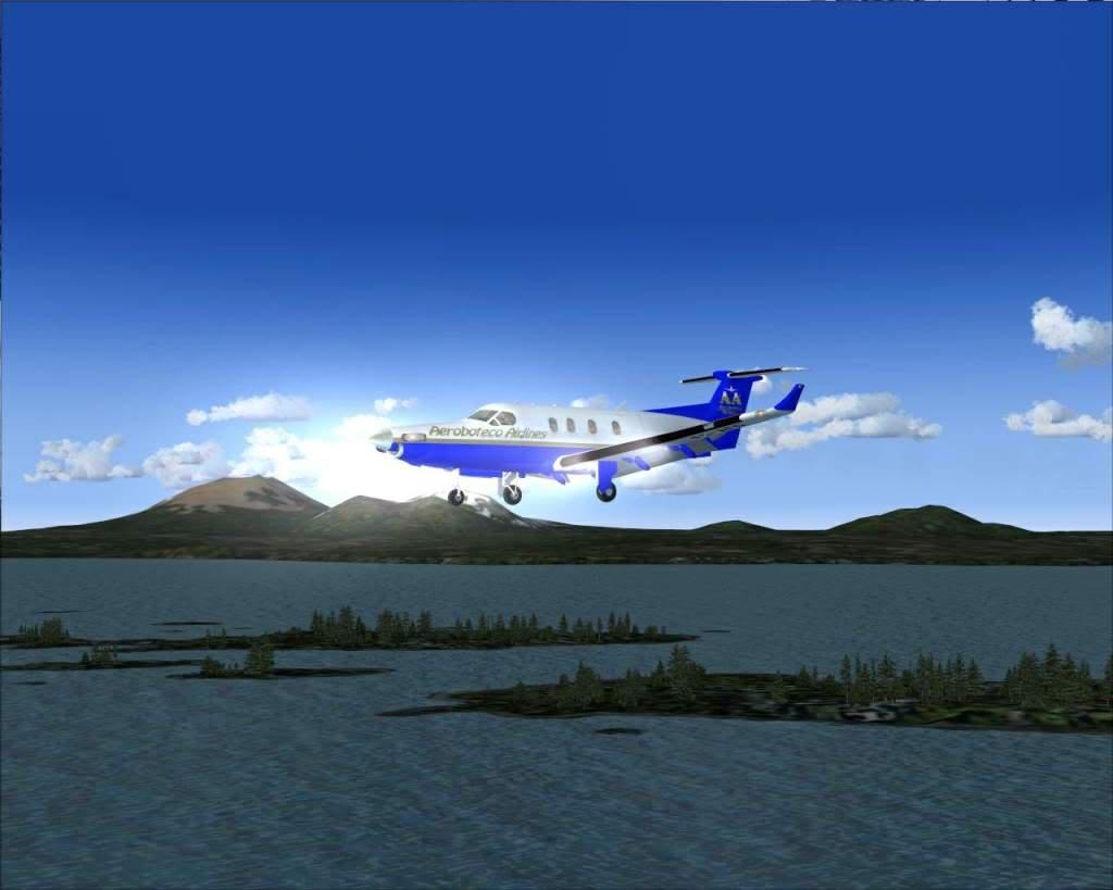 """""""Fs9"""" Voando ate pelas Montanhas ate Sitka parte 2 RICARDO-2010-oct-19-052"""