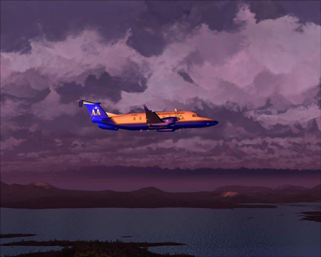 """""""Fs9"""" O voo até Gustavus....lindas paisagens  RICARDO-2010-nov-2-028"""