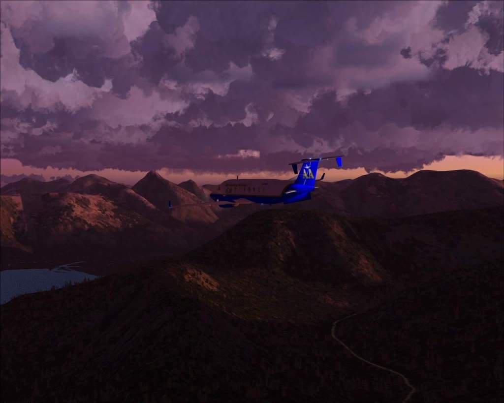 """""""Fs9"""" O voo até Gustavus....lindas paisagens  RICARDO-2010-nov-2-030"""