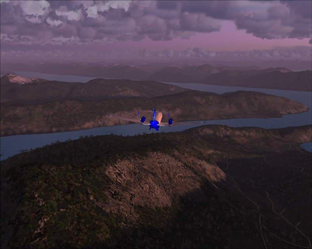 """""""Fs9"""" O voo até Gustavus....lindas paisagens  RICARDO-2010-nov-2-032"""