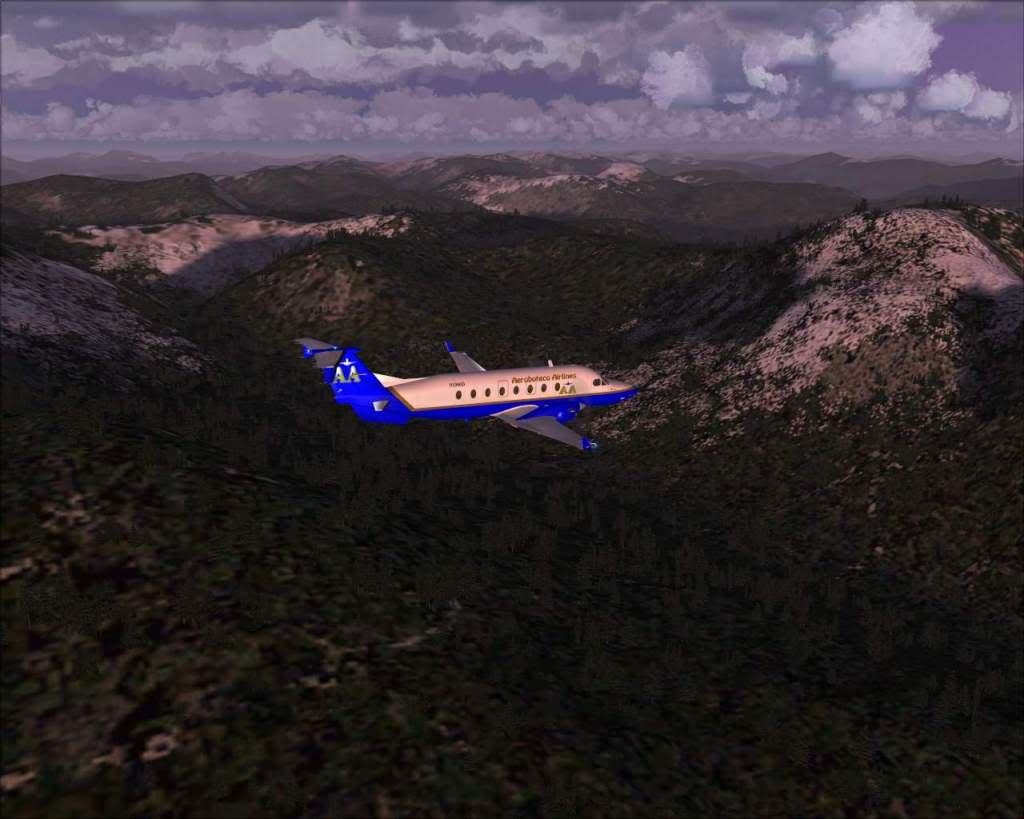 """""""Fs9"""" O voo até Gustavus....lindas paisagens  RICARDO-2010-nov-2-033"""