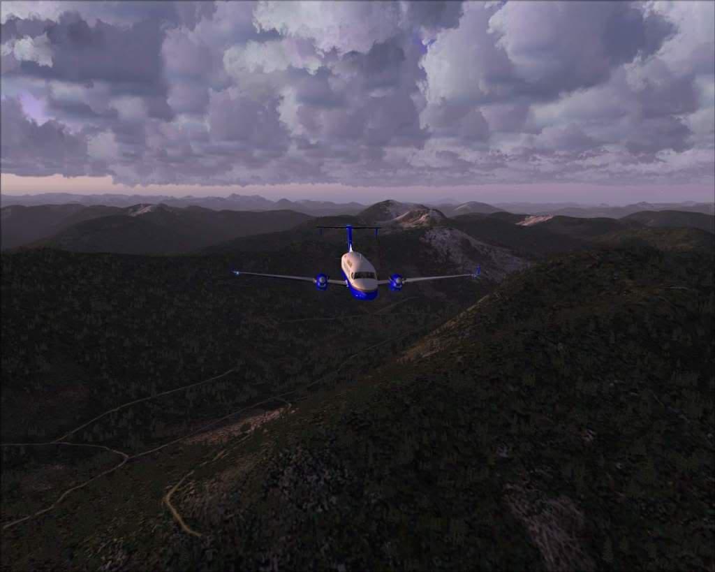 """""""Fs9"""" O voo até Gustavus....lindas paisagens  RICARDO-2010-nov-2-035"""