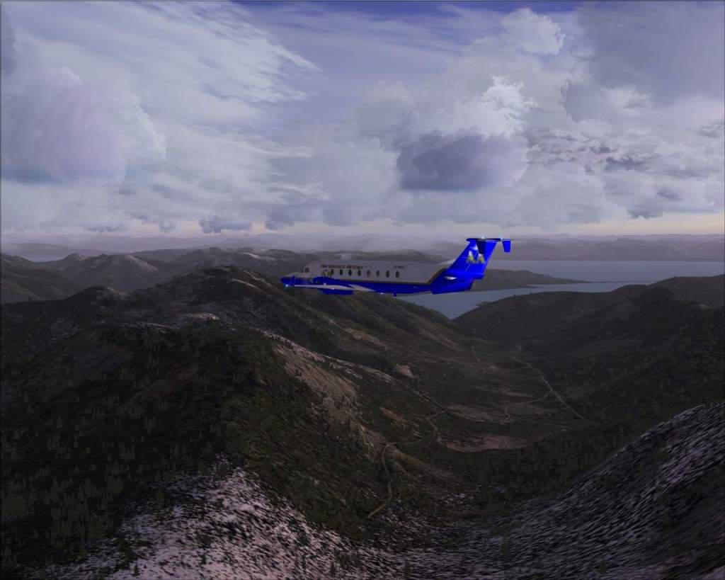 """""""Fs9"""" O voo até Gustavus....lindas paisagens  RICARDO-2010-nov-2-036"""