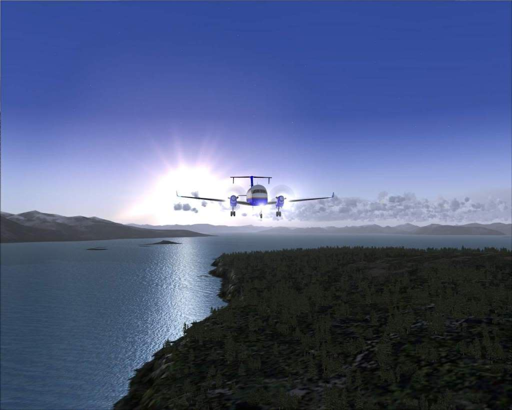 """""""Fs9"""" O voo até Gustavus....lindas paisagens  RICARDO-2010-nov-2-044"""
