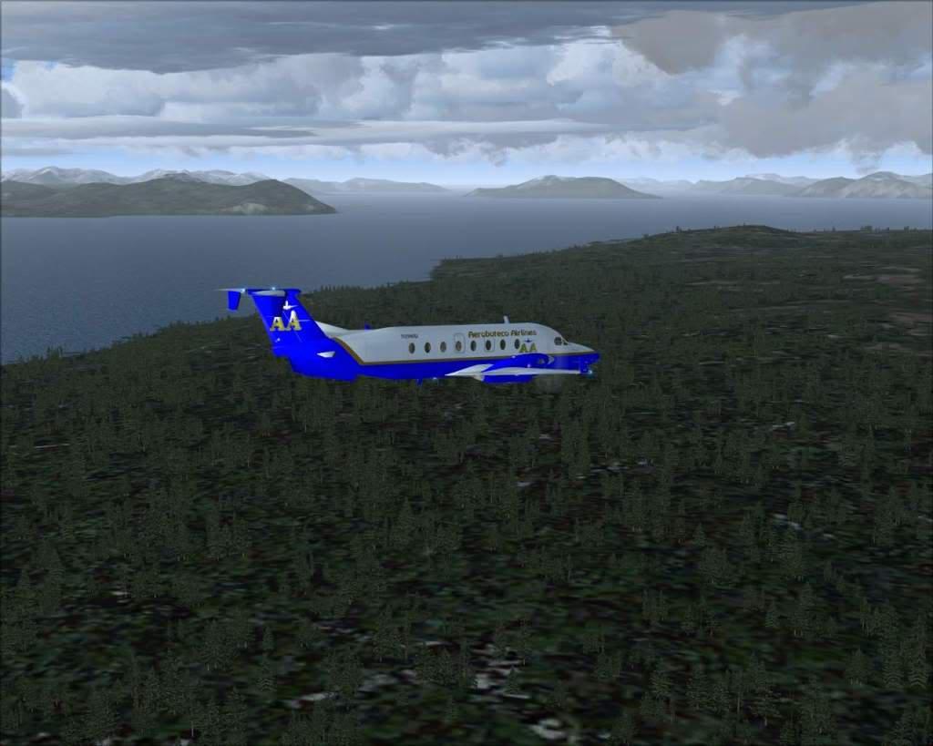 """""""Fs9"""" O voo até Gustavus....lindas paisagens  RICARDO-2010-nov-2-056"""