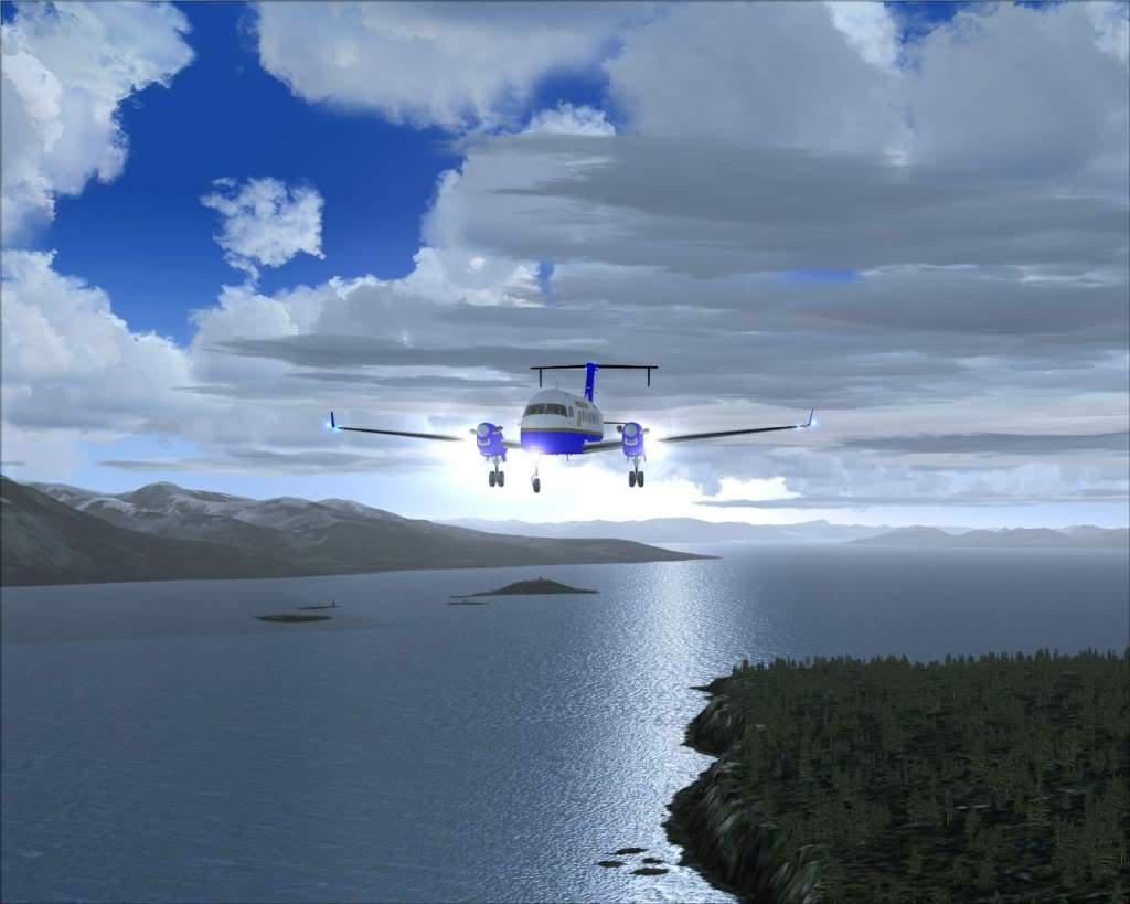 """""""Fs9"""" O voo até Gustavus....lindas paisagens  RICARDO-2010-nov-2-058"""